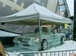 Машина изо льда с настоящими элементами