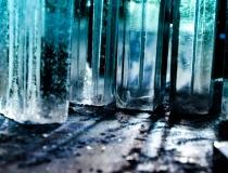 Процесс создания ледяной стены - 1
