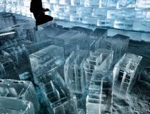 Процесс создания ледяной стены - 2
