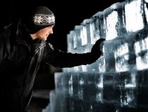 Стена из ледяных блоков - 3