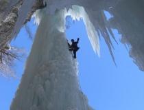 Клык изо льда в горах Колорадо фото-4
