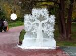 Ледяное дерево для парка Ветеран фото-1