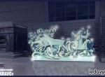 Эскиз для главной ледяной скульптуры комлекса