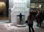 Ледяное оформление ТЦ Капитолий фото - 1