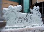 Ледяное оформление ТЦ Капитолий фото - 7