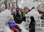 Ледяные скульптуры в Коломне - 1