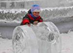 Ледяные скульптуры в Коломне - 4