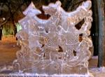 Ледяная скульптура в городе Коломна