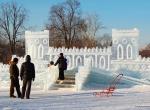 Фото ледяной крепости -1