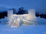 Фото ледяной крепости -3