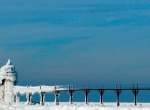 Маяки - ледяные статуи фото-7