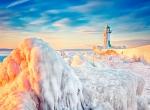Маяки - ледяные статуи фото-9