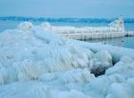 Маяки - ледяные статуи фото-11