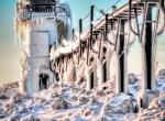 Маяки - ледяные статуи фото-15