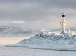 Маяки - ледяные статуи фото-1
