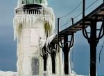Маяки - ледяные статуи фото-4