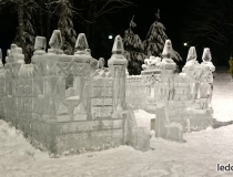 Ледовый замок для ледяного городка