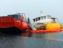 Подъем яхты Mar Sem Fim фото-2