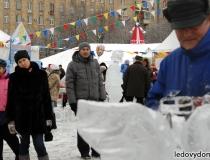 Ледяные скульптуры на масленицу - 5