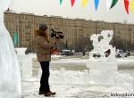 Ледяное оформление праздника Масленица - 1