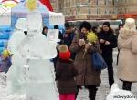 Ледяное оформление праздника Масленица - 2