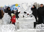 Ледяное оформление праздника Масленица - 6