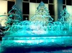 Фотографии новогодних ледяных композиций - 1