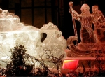 Фотографии новогодних ледяных композиций - 3