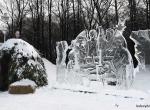 Фотографии новогодних ледяных композиций - 4