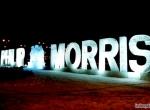 Фото ледяной надписи Philip Morris - 1