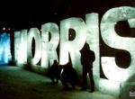 Фото ледяной надписи Philip Morris - 3