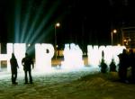 Фото ледяной надписи Philip Morris - 4