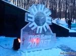 Ледяной логотип ПИР-банк фото-1
