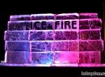 Ледяная рекламная скульптура ICE&FIRE