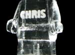 Игрушка выполненная изо льда