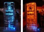 Телефон Nokia выполненный изо льда