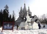 Процесс изготовления ледовой композиции Дом Романовых - фото - 2