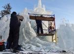 Процесс изготовления ледяной композиции 400 лет Дому Романовых - фото - 8