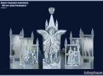 Проект ледовой композиции 400 лет Дому Романовых (Обратная сторона)