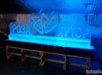 Ледяной логотип Роза Хутор фото-4