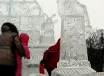 Ледовые скульптуры для города фото-8