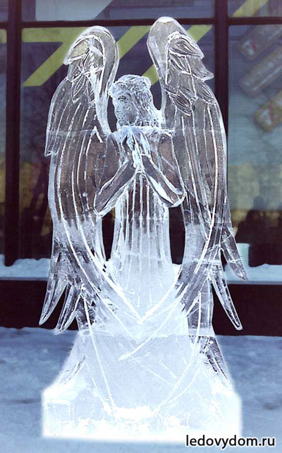 Как сделать скульптуры из льда