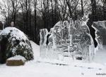 Фото ледяных композиций для города -2
