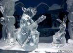 Фото ледяных композиций для города -5