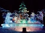 Фото ледяных композиций для города -8