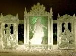 Городские скульптуры изо льда фото-1