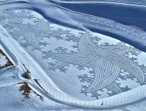 Снежные узоры Симона Бека фото-13