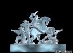 Эскиз для скульптуры Ковбои