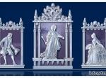 Проект ледяной композиции Екатерина Великая