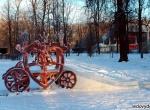 Ледяные горки на деревянном каркасе фото-4